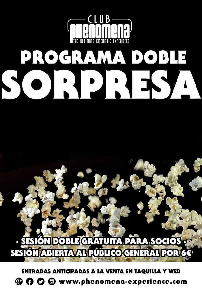 Programa doble sorpresa Club Phenomena