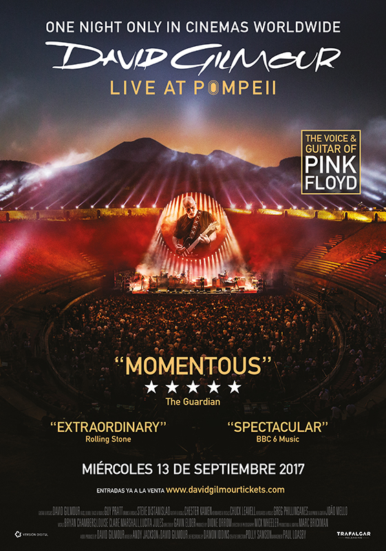 David Gilmour. Live at Pompeii