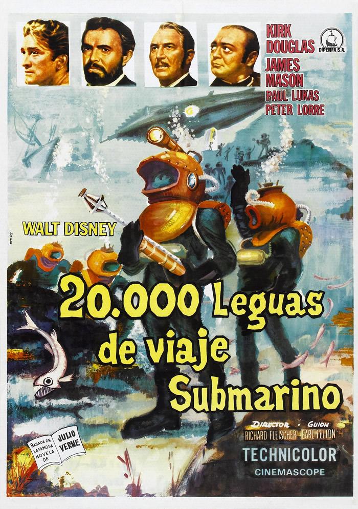 20000 лье под водой 1954  фильм