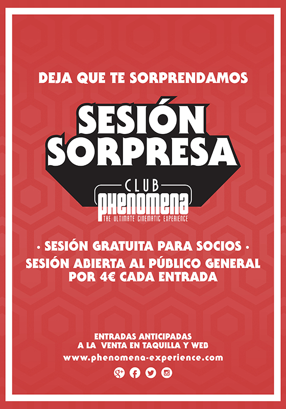 Sesión sorpresa Club Phenomena